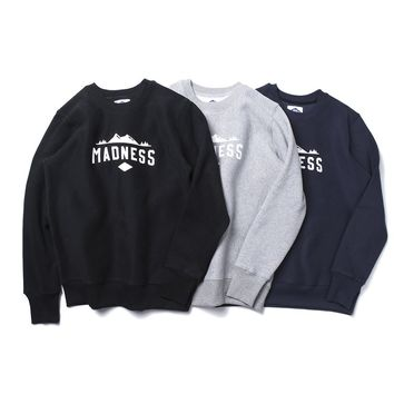 qiyif MADNESS Small Word Sweater