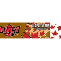 JUICY JAY'S MAPLE SYRUP 1&25 FLAVOURED & PRINTED PAPERS .. BOX/24