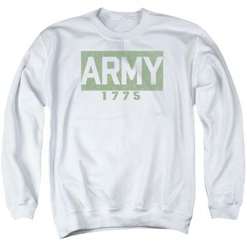 Army - Block Adult Crewneck Sweatshirt