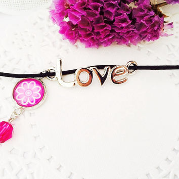 Love & Flower Midori Traveler's Notebook Charm