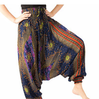 Bangkok Pants Jumpsuit Harem Trousers Women Harem Pants Elephant Pants Hippie clothes Thai Pants Gypsy Pants Hippie Maxi Pants Yoga Pants