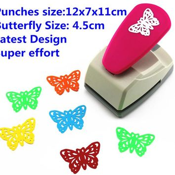 butterfly punch latest design super Save effort Shaper Craft Punch Scrapbooking Punches Paper Puncher DIY tools