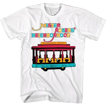 Mr. Rodgers Trolley Tee Shirt