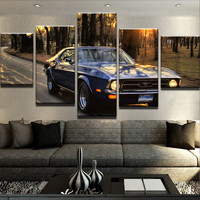 Ford Mustang Sunset Canvas Set