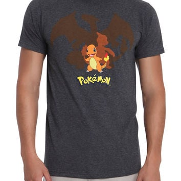 Pokemon Charmander Evolution T-Shirt