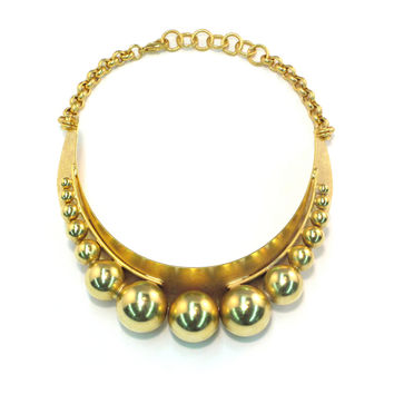 Mabel Necklace, Golden Glow