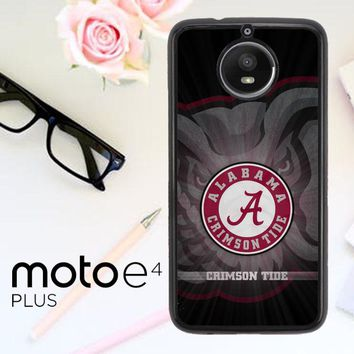 Alabama Crimson Tide G0099 Motorola Moto E4 Plus Case