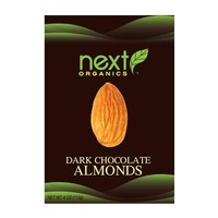 Next Organics Dark Chocolate Almonds (6x4 OZ)