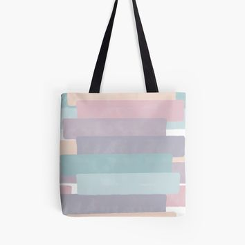 'Quietude #redbubble #abstractart' Tote Bag by designdn
