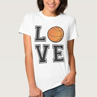 Love Basketball Tee Shirt