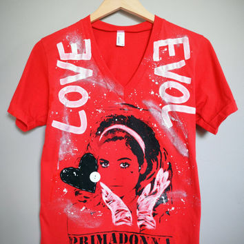 Marina & the Diamonds - LOVE EVOL T-Shirt (XS)