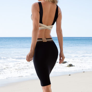 Olympia Activewear - Siren Neo Pencil Skirt | Jet