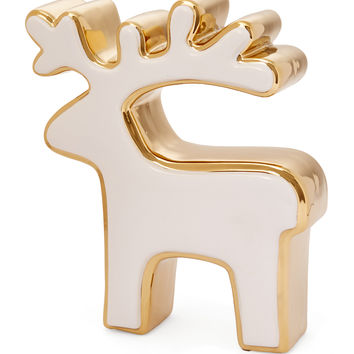 Abbott Large Reindeer Figure - Gold