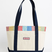 Women's Tote Bags: Ocean Life Patchwork Tote for Women - Vineyard Vines