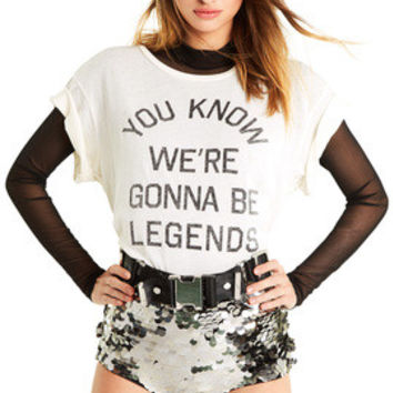 Legends Manchester Tee - Wildfox