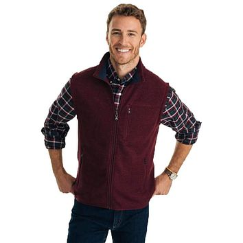 Samson Peak Sweater Fleece Vest by Southern Tide