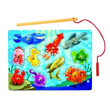 Melissa and Doug-Fishing Magnetic Puzzle Game