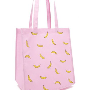 Banana Shopper Tote