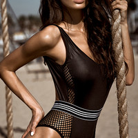 Say Yes to the Mesh Bodysuit