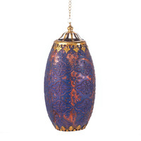 Relic Moroccan Glass Hanging Candle Lamp