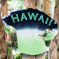 Hawaii Classic Crew Neck Spirit Jersey® in Electric Ombre