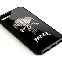 Best Marvel The Punisher Logo Fit iPhone 7 and 7 Plus Hard Plastic Protect Case