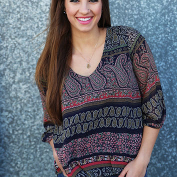 Trade Winds Blouse