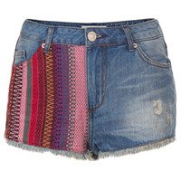 MOTO Vintage Tapestry Hotpants - New In This Week - New In - Topshop USA