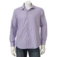 Apt. 9 Modern-Fit Striped Woven Casual Button-Down Shirt