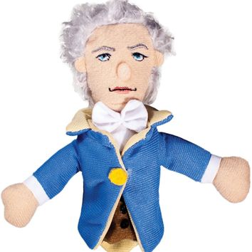 Alexander Hamilton Magnetic Personality Finger Puppet