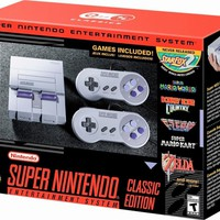 SNES Super Nintendo Classic Edition Video Game Console