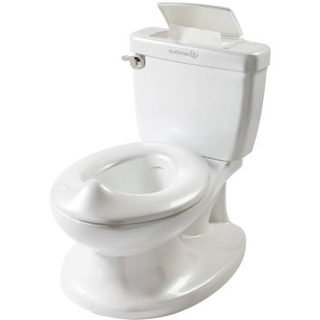 My Size Potty Training Learning Pretend Adult Toilet Flushing Sound Toddler Kid