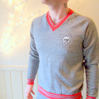 Vintage Georgia Bulldogs Grey Sweatshirt 1980s