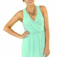 Draped Goddess Dress at iLoveFringe.com
