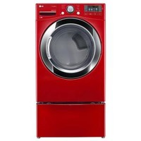 LG Electronics 7.4 cu. ft. Electric Dryer with Steam in Wild Cherry Red, ENERGY STAR DLEX3370R at The Home Depot - Mobile