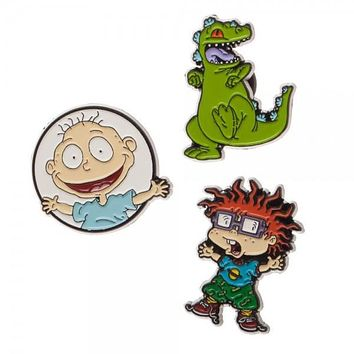 Rugrats Lapel Pin 3 Pack