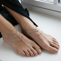 House of Blaise Foot Chain Set