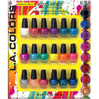 LA Colors Splash 18pc Mini Set  :: Nail Polish Sets  :: Sets  :: Cherry Culture