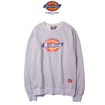 Dickies Fashion long sleeve sweater thick Grey