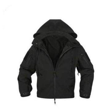Special Ops Tactical Soft Shell Jacket | Black