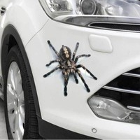Car-Styling 3D Car Stickers Decals Realistic Animal Spider/Lizard/Scorpion Classic Personality Waterproof Body Car Accessories