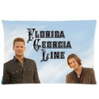 Florida Georgia Line Custom Pillowcase Standard Size 20x30 PWC-1437