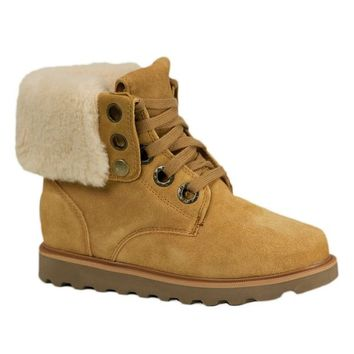 Bearpaw Women's Kay Ankle-High Sheepskin Boot