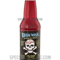 Brain Wash Red Carbonated Drink 12oz Glass Bottle