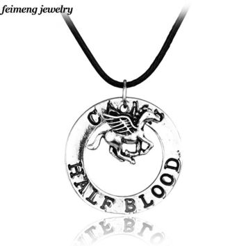 Dropshipping a lot Percy Jackson camp half blood with fly horse necklace
