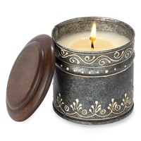 Himalayan Trading Post 'Ancient Philosophy' Tin Candle,