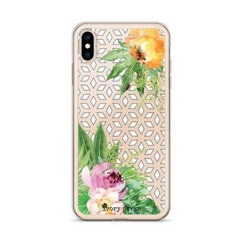 Lost In Paradise Floral iPhone Case