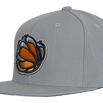 Memphis Grizzlies Bear Claw Mitchell & Ness Grey Snapback Cap
