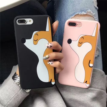 3D Corgi iPhone Case