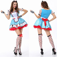 Halloween Clown Princess Dress [9220883460]